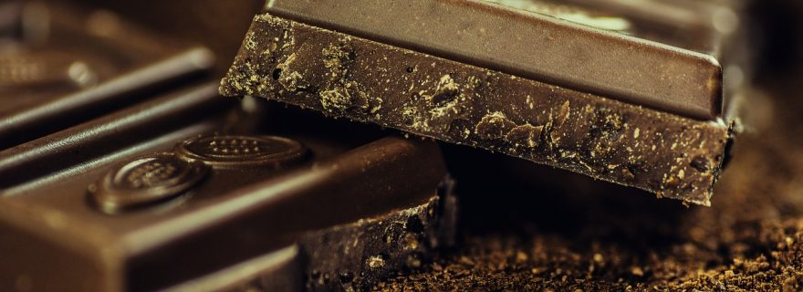 It's about chocolate.